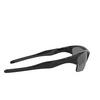 Oakley® Irregular Sunglasses: Half Jacket 2.0 Xl OO9154 color Polished Black 915405 - product thumbnail 2/3.