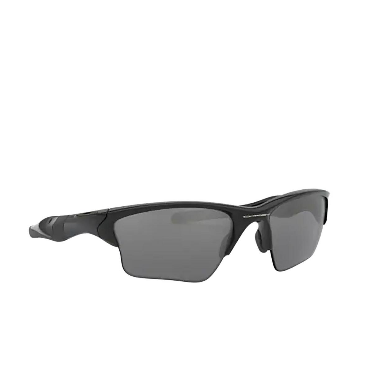 Oakley® Irregular Sunglasses: Half Jacket 2.0 Xl OO9154 color Polished Black 915405 - 3/3.