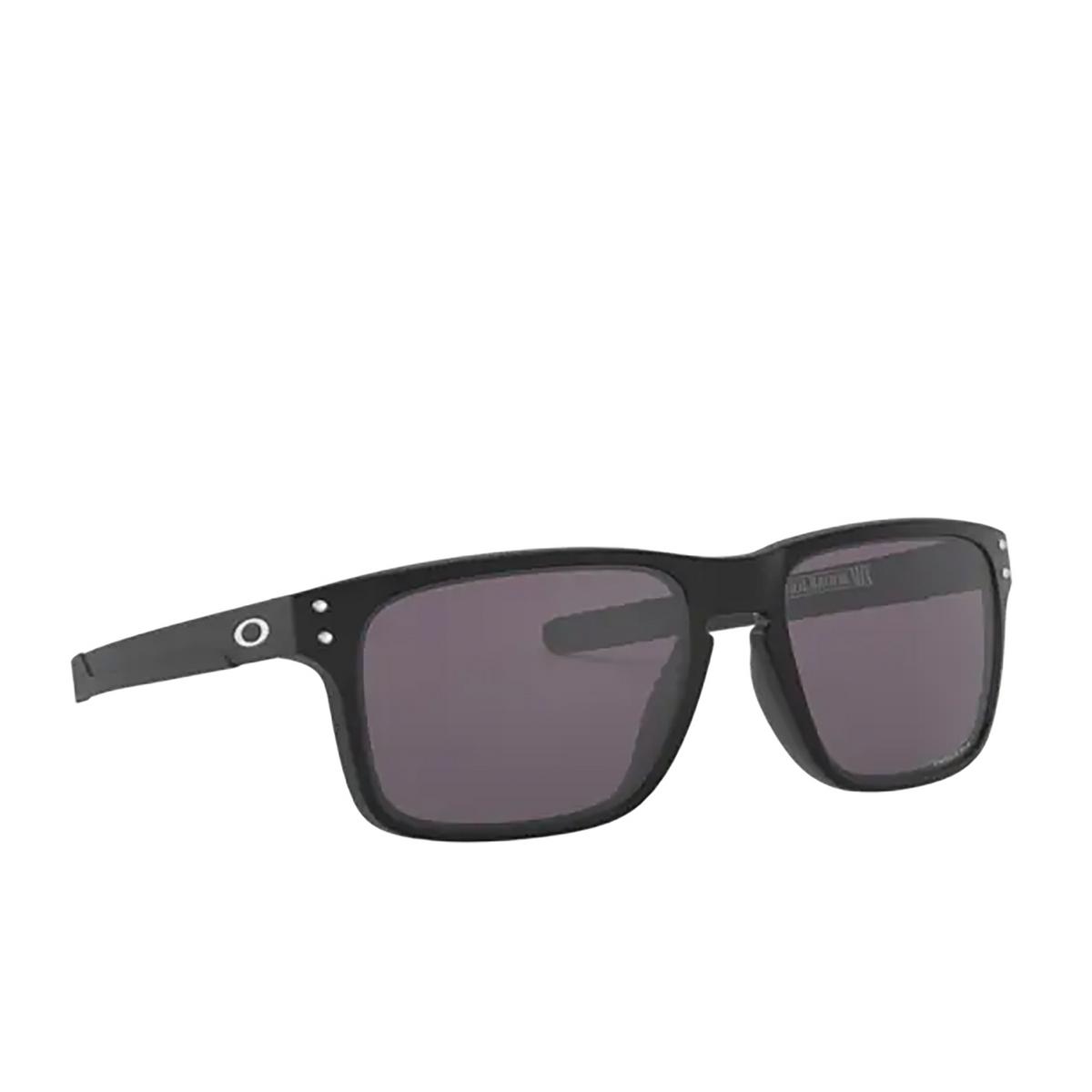 Oakley® Rectangle Sunglasses: Holbrook Mix OO9384 color Matte Black 938418 - 2/3.
