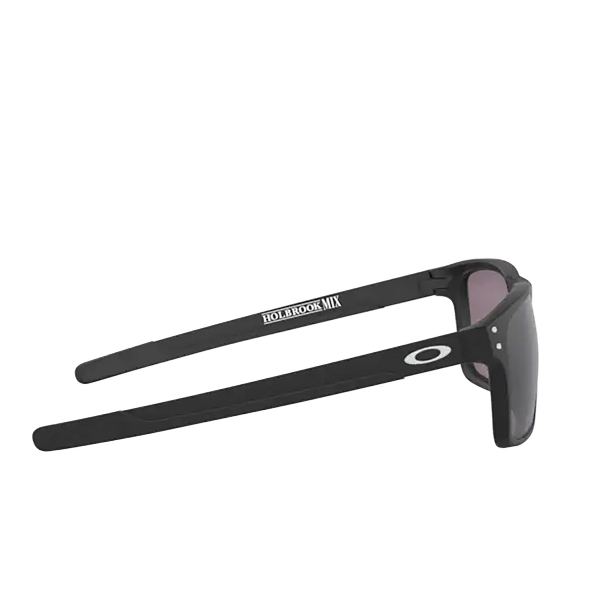 Oakley® Rectangle Sunglasses: Holbrook Mix OO9384 color Matte Black 938418 - 3/3.