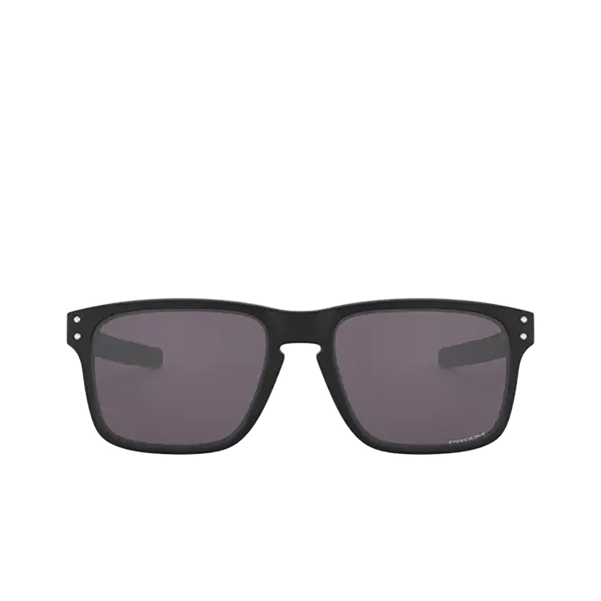 Oakley® Rectangle Sunglasses: Holbrook Mix OO9384 color Matte Black 938418 - 1/3.