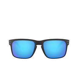 Oakley® Sunglasses: Holbrook OO9102 color Matte Black 9102F0.