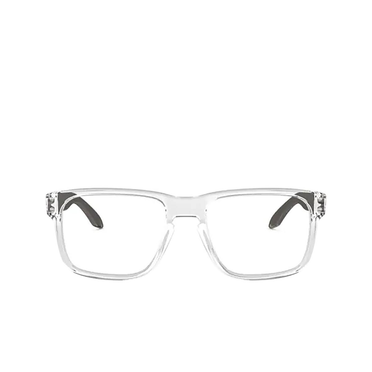 Oakley® Square Eyeglasses: Holbrook Rx OX8156 color Polished Clear 815603.