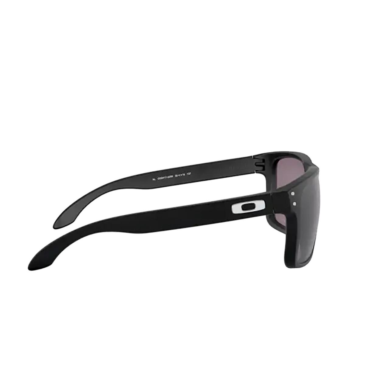 Oakley® Square Sunglasses: Holbrook Xl OO9417 color Matte Black 941722 - 3/3.