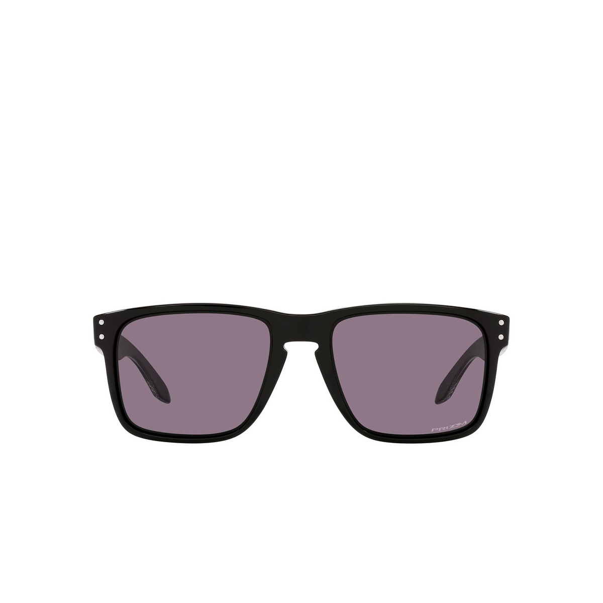 Oakley® Square Sunglasses: Holbrook Xl OO9417 color Polished Black 941727 - front view.