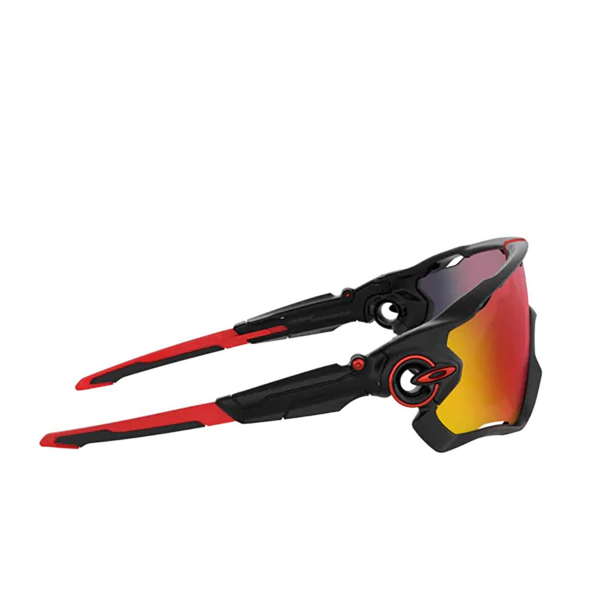 Oakley® Sport Sunglasses: Jawbreaker OO9290 color Matte Black 929020 - 3/3.