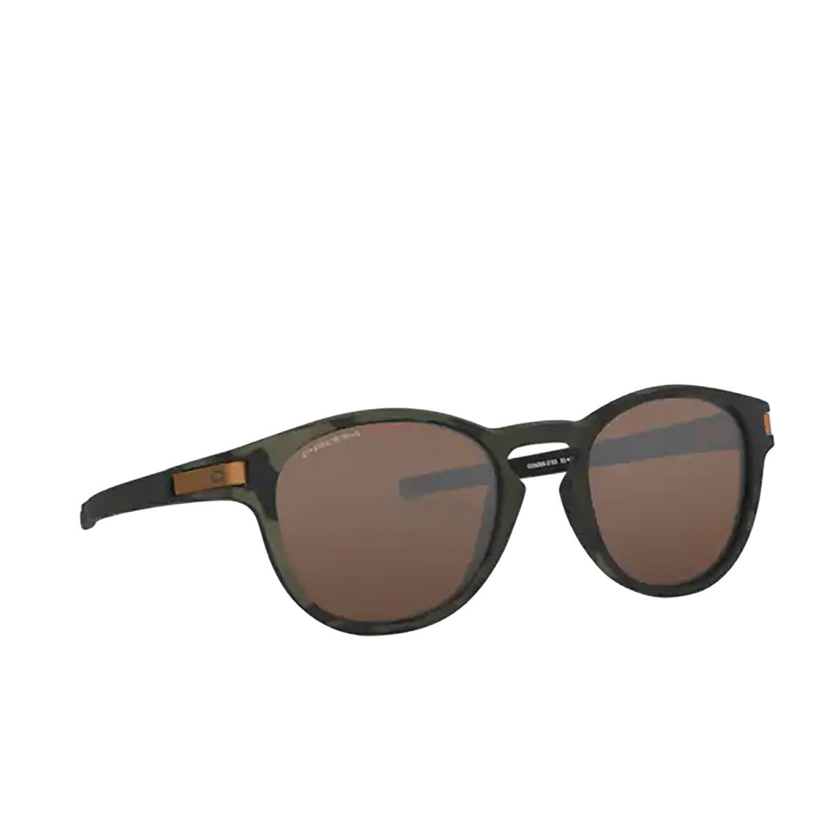 Oakley® Round Sunglasses: Latch OO9265 color Matte Olive Camo 926531 - 2/3.