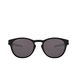 Oakley® Round Sunglasses: Latch OO9265 color Matte Black 926556.