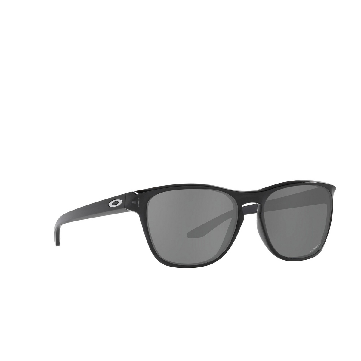 Oakley® Square Sunglasses: Manorburn OO9479 color Black Ink 947902 - three-quarters view.