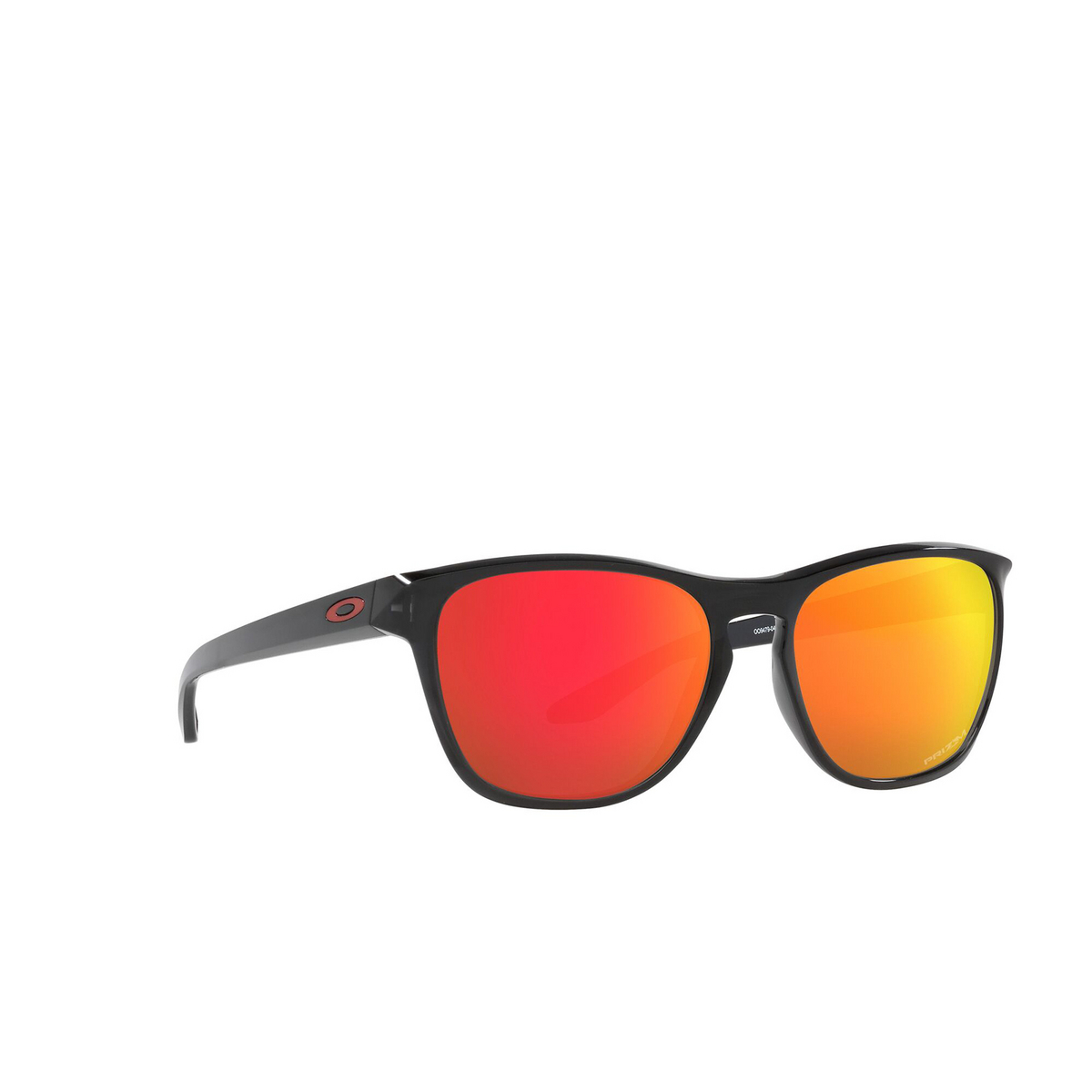 Oakley® Square Sunglasses: Manorburn OO9479 color Black Ink 947904 - three-quarters view.