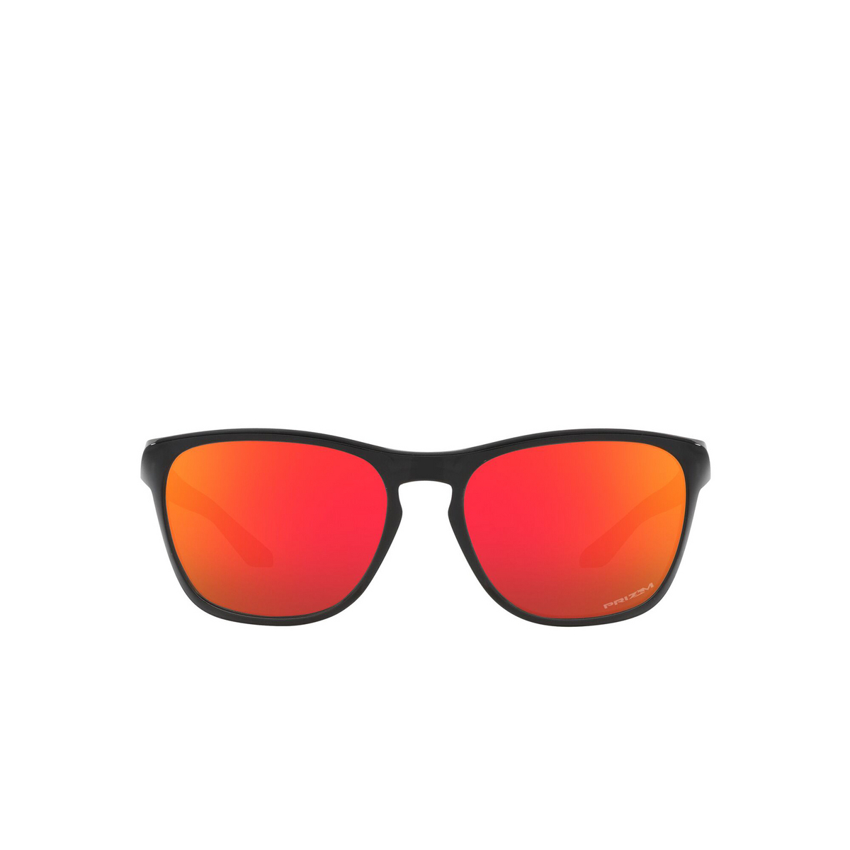 Oakley® Square Sunglasses: Manorburn OO9479 color Black Ink 947904 - front view.