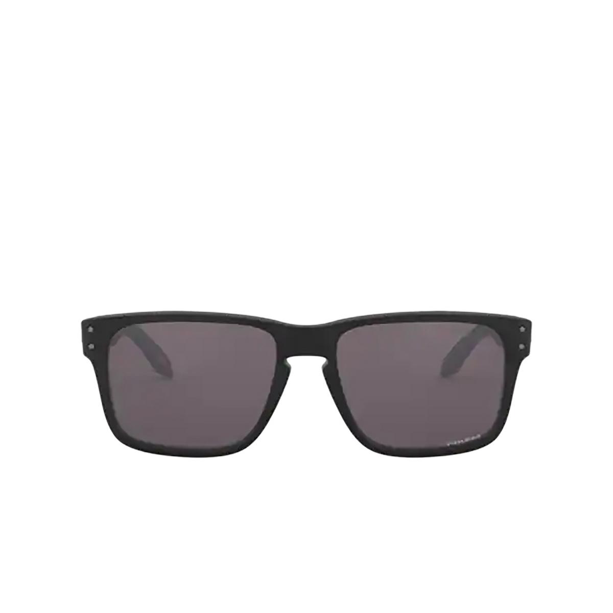 Oakley® Square Sunglasses: Holbrook Xs OJ9007 color Matte Black 900709 - front view.
