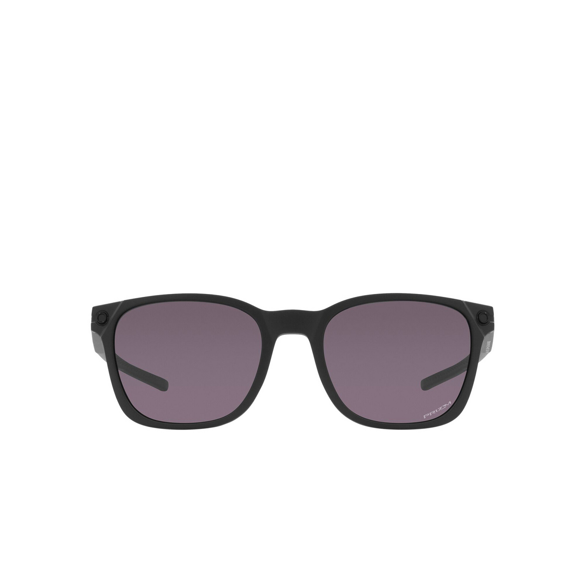 Oakley® Square Sunglasses: Ojector OO9018 color Matte Black 901801 - front view.