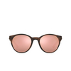 Oakley® Round Sunglasses: Spindrift OO9474 color Matte Brown Tortoise 947401 - product thumbnail 1/3.