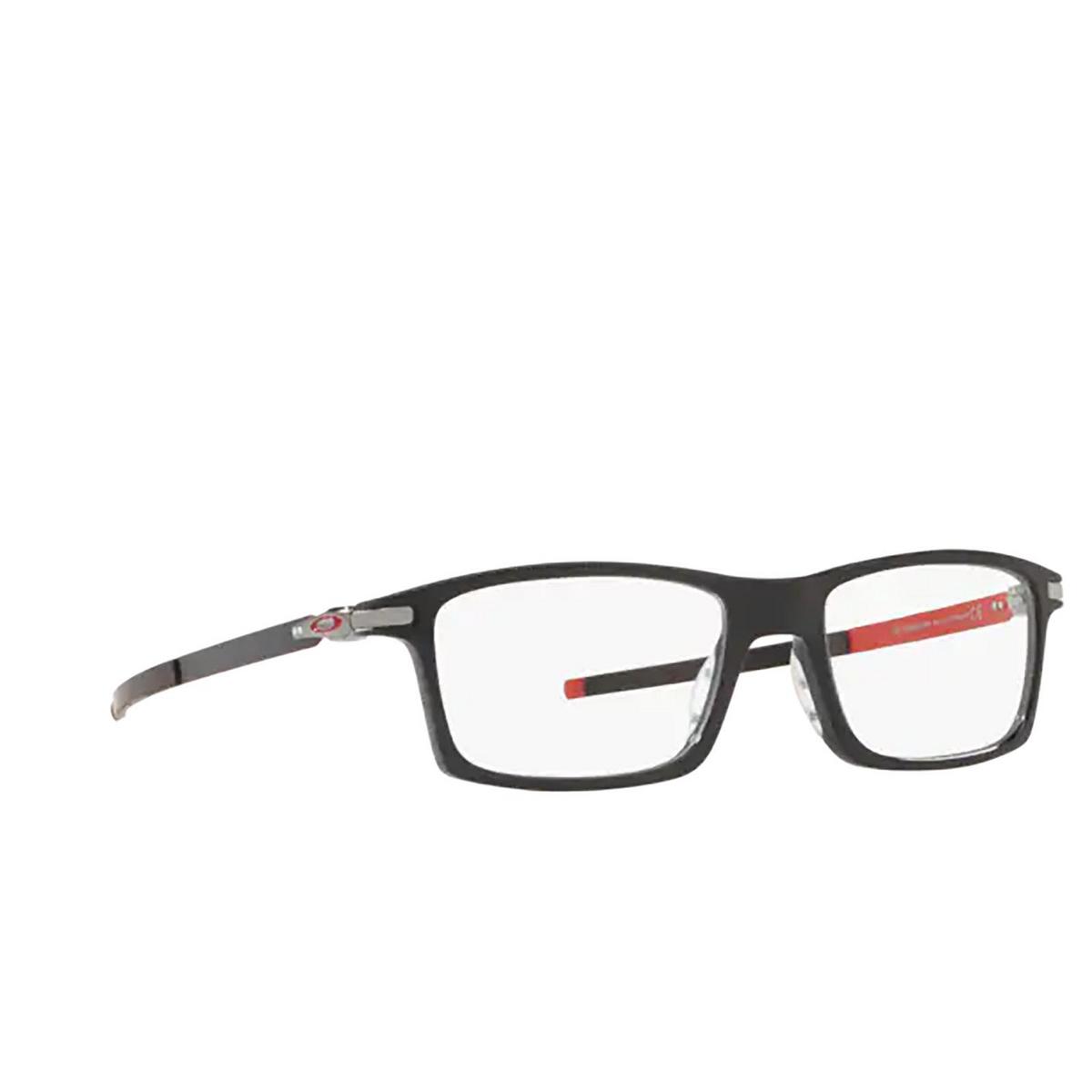 Oakley® Rectangle Eyeglasses: Pitchman OX8050 color Black Ink 805015.