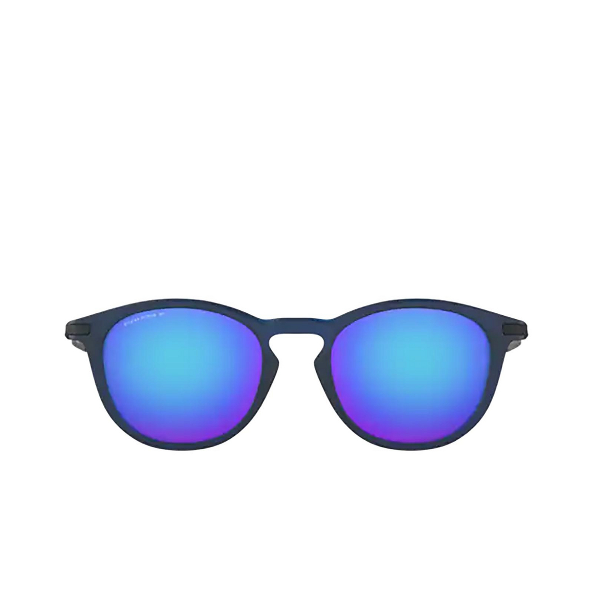 Oakley® Round Sunglasses: Pitchman R OO9439 color Matte Translucent Blue 943913.