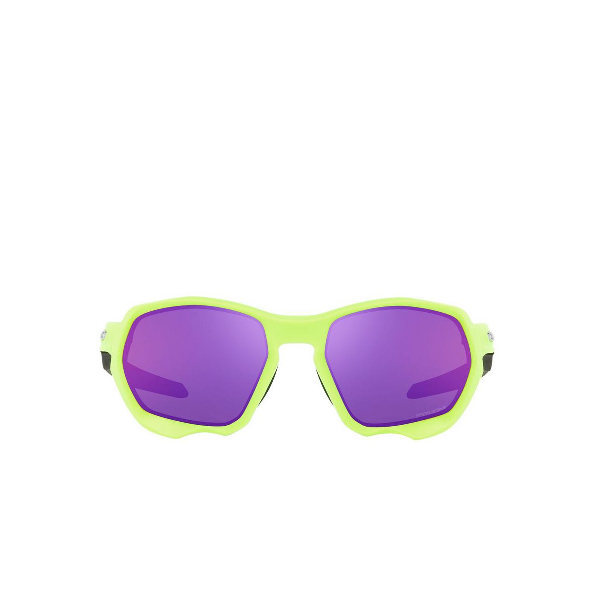Oakley® Sport Sunglasses: Plazma OO9019 color Matte Retina Burn 901904 - front view.