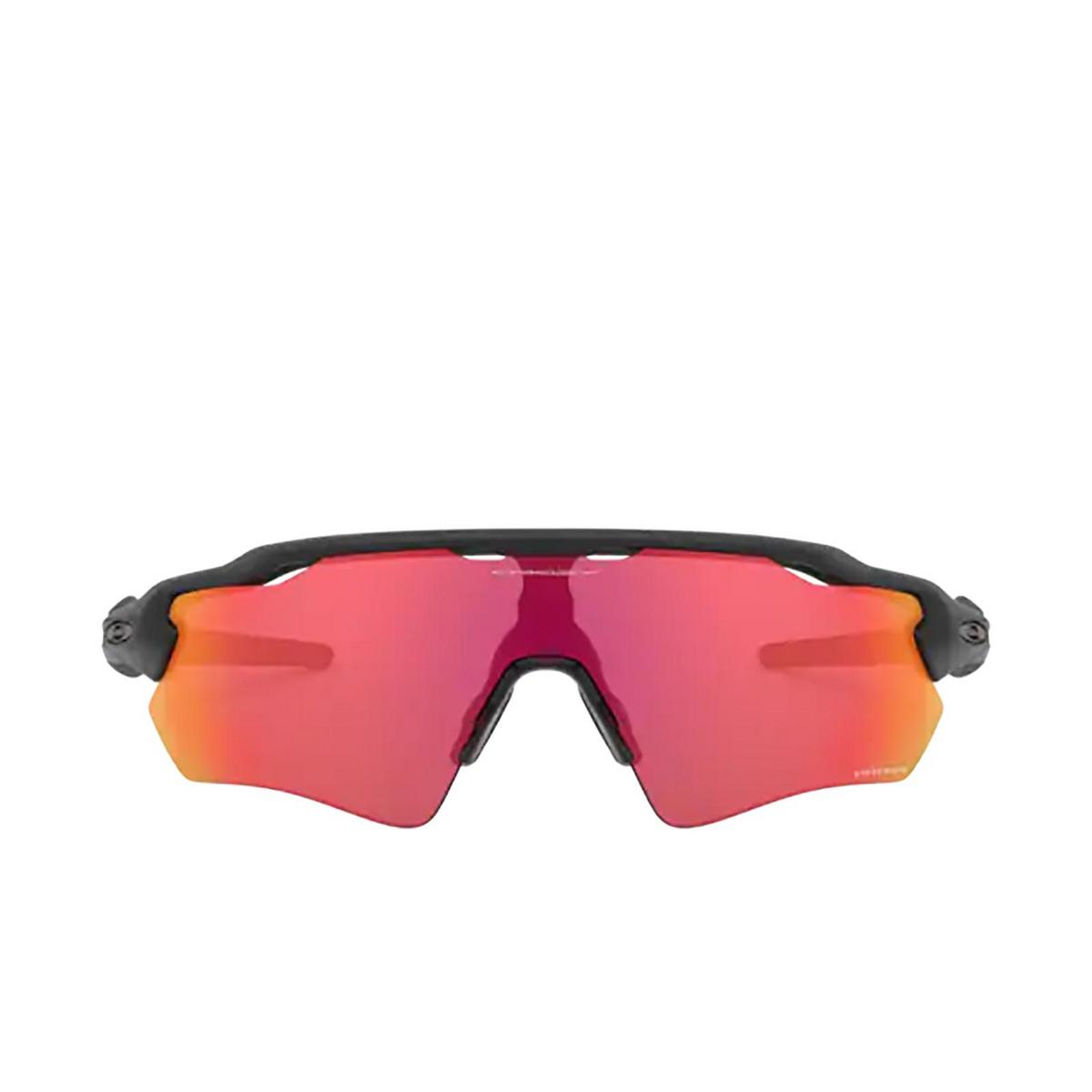 Oakley® Sport Sunglasses: Radar Ev Path OO9208 color Matte Black 920890 - front view.