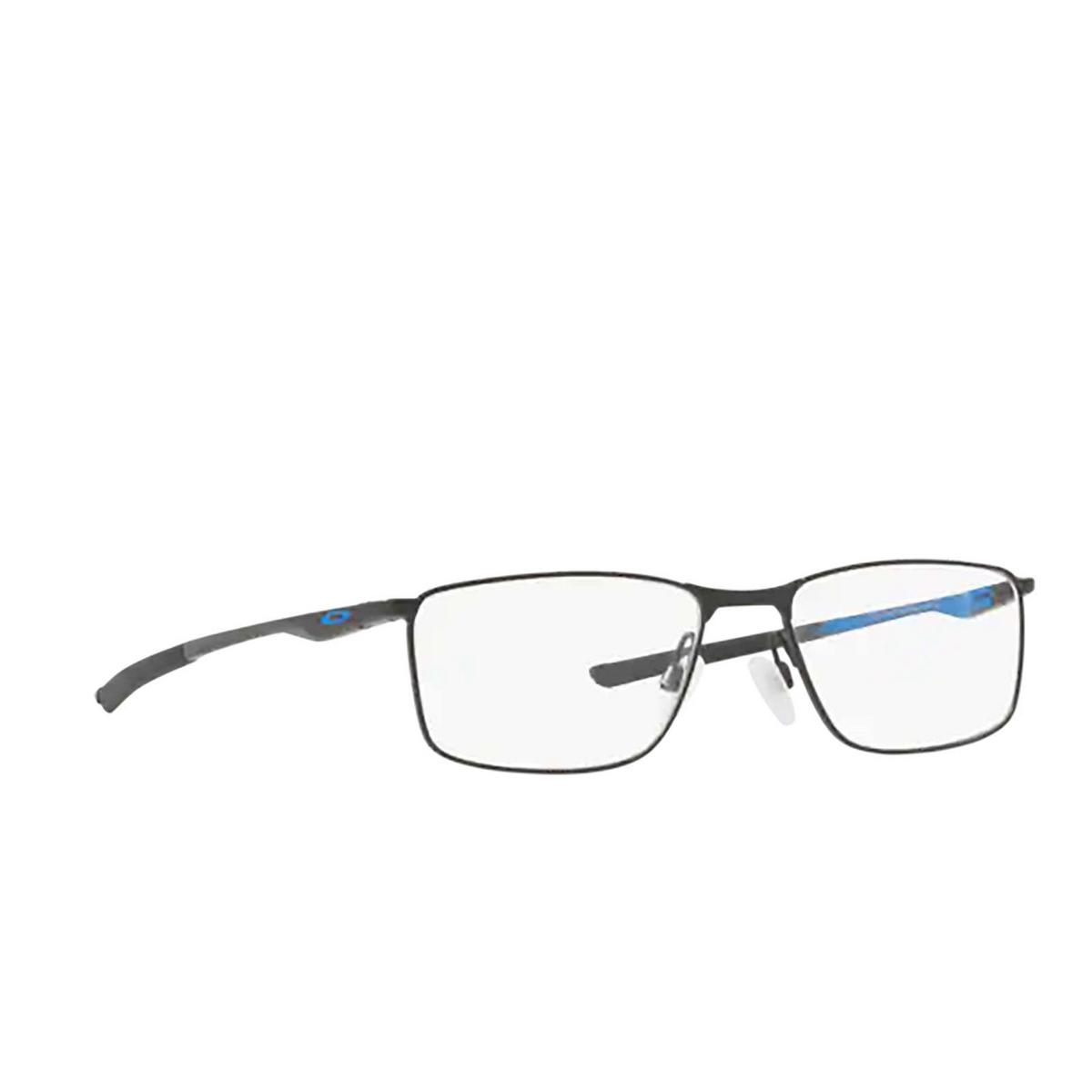 Oakley® Rectangle Eyeglasses: Socket 5.0 OX3217 color Satin Black 321704.