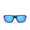 Oakley® Rectangle Sunglasses: Split Shot OO9416 color Matte Trans Blue 941604 - product thumbnail 1/3.