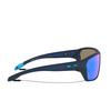 Oakley® Rectangle Sunglasses: Split Shot OO9416 color Matte Trans Blue 941604 - product thumbnail 3/3.