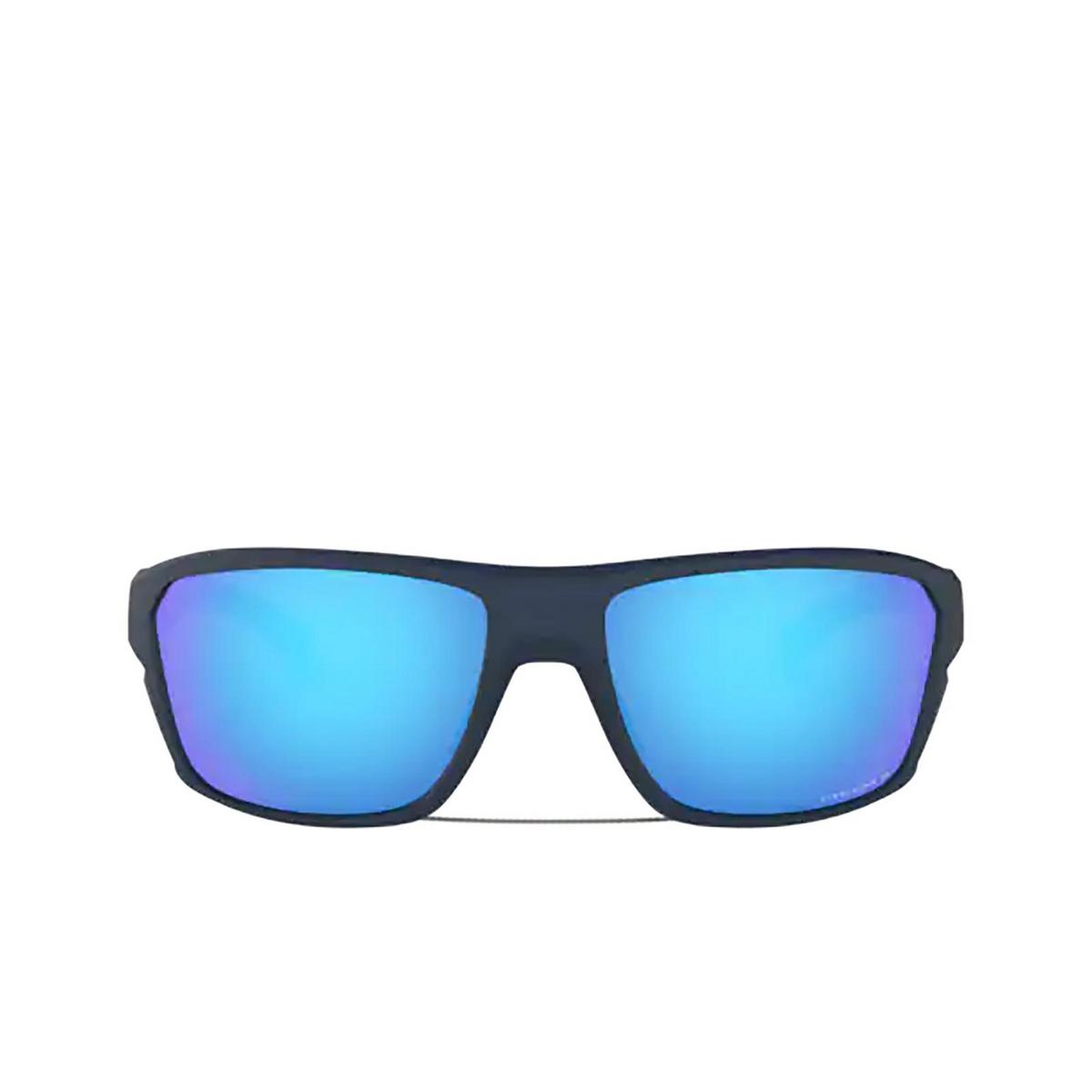 Oakley® Rectangle Sunglasses: Split Shot OO9416 color Matte Trans Blue 941604 - 1/3.
