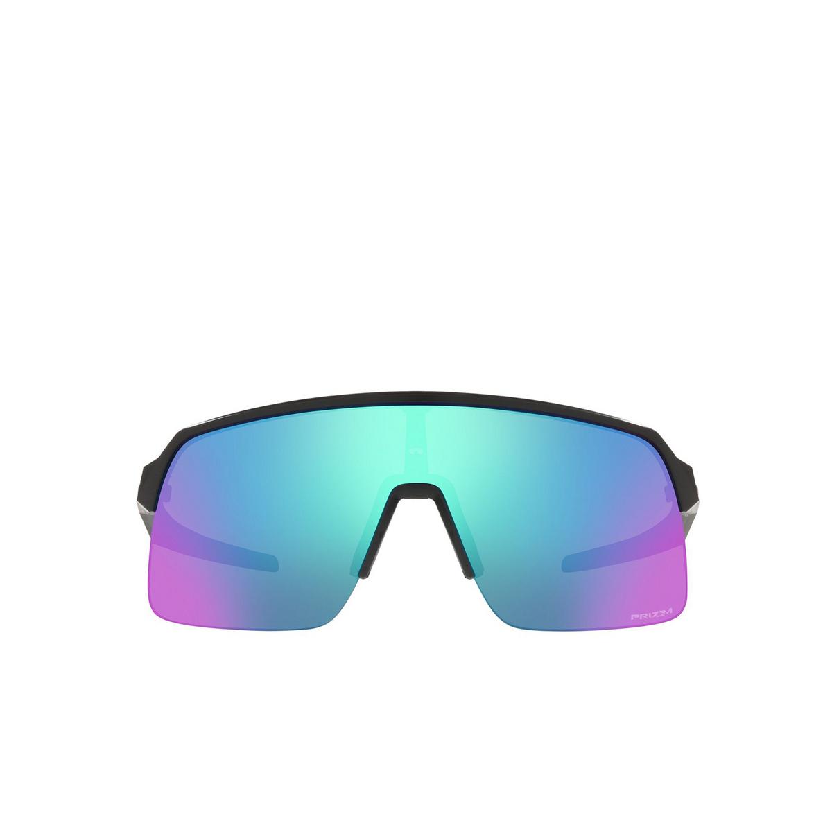 Oakley® Rectangle Sunglasses: Sutro Lite OO9463 color Matte Black 946315 - front view.