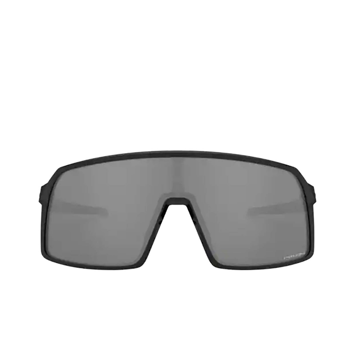 Oakley® Sport Sunglasses: Sutro OO9406 color Polished Black 940601 - front view.