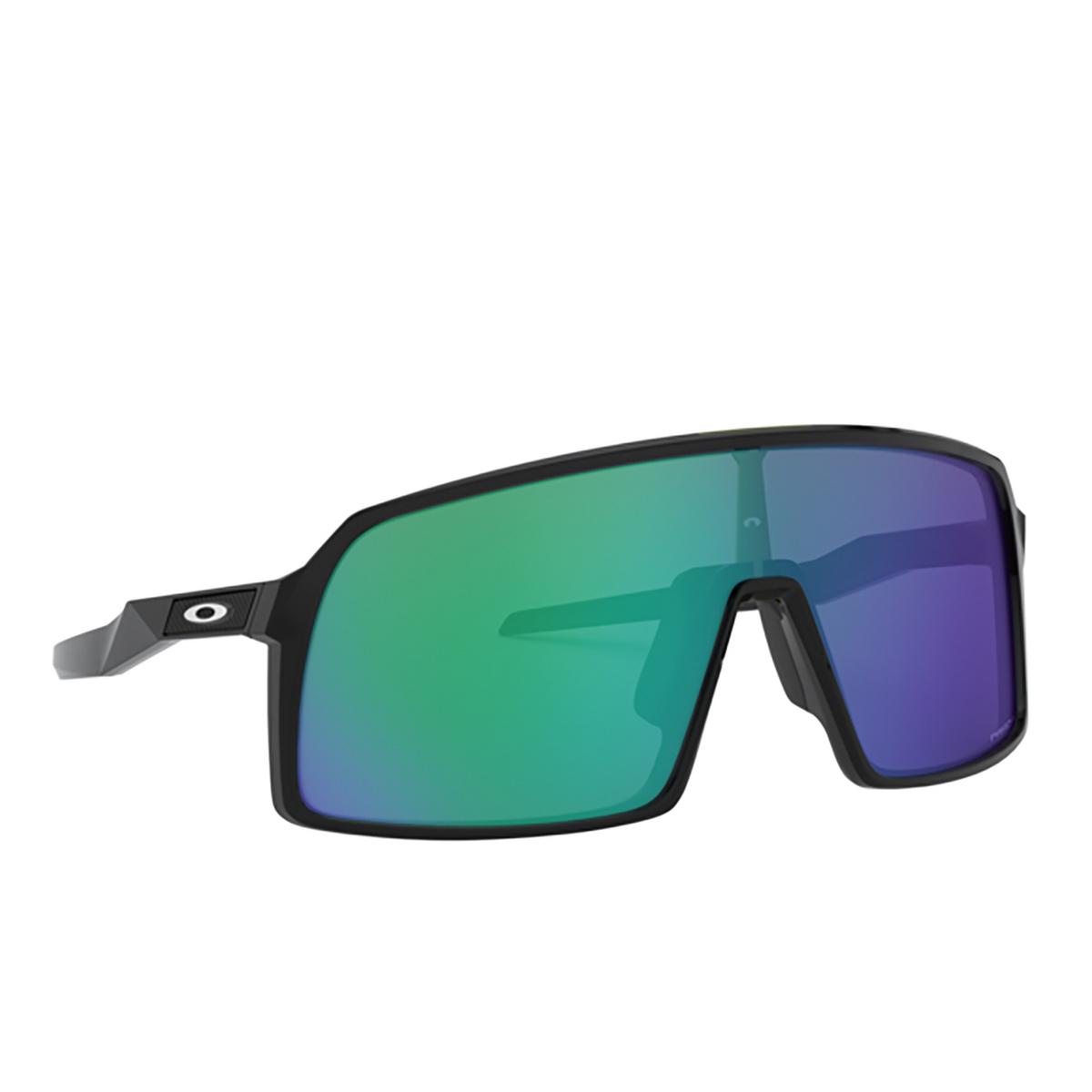 Oakley® Sport Sunglasses: Sutro OO9406 color Black Ink 940603 - three-quarters view.
