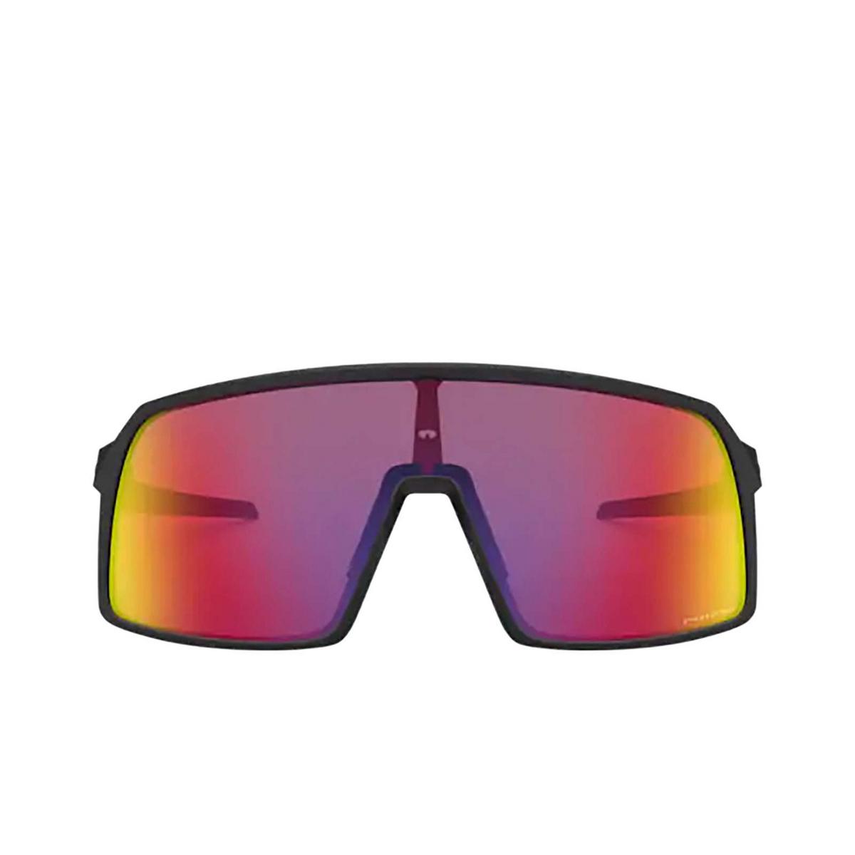 Oakley® Sport Sunglasses: Sutro OO9406 color Matte Black 940608 - front view.