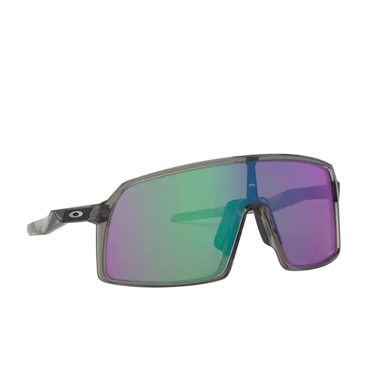 Oakley® Sport Sunglasses: Sutro OO9406 color Grey Ink 940610 - three-quarters view.