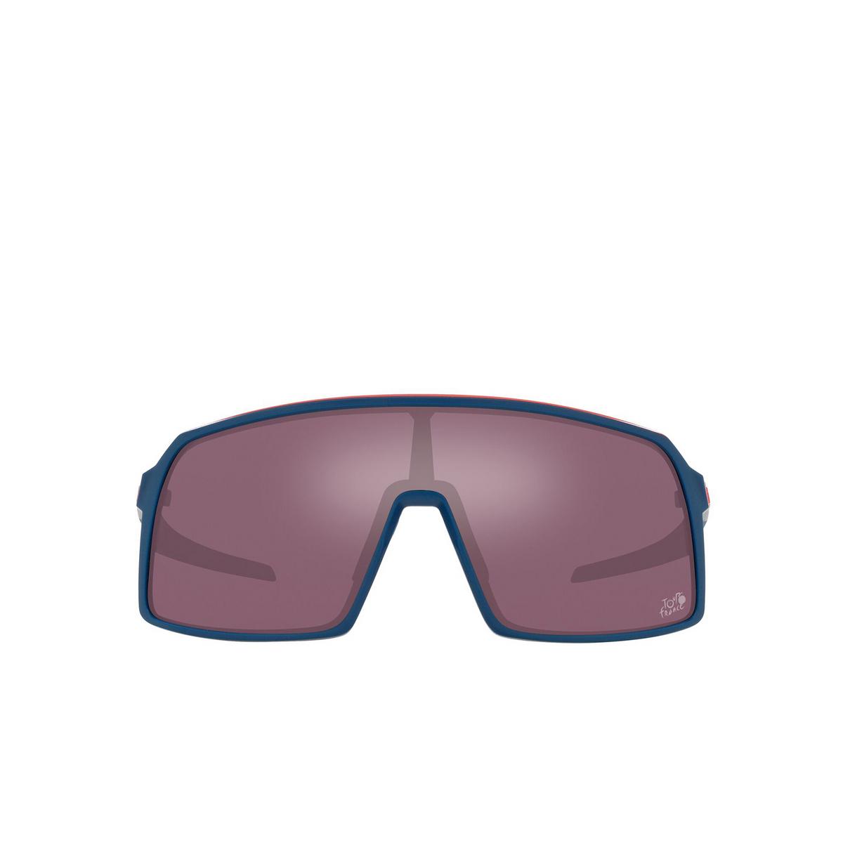 Oakley® Sport Sunglasses: Sutro OO9406 color Tdf Poseidon 940658 - front view.