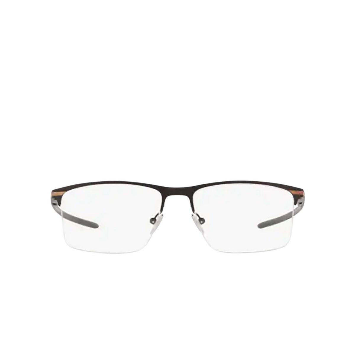 Oakley® Rectangle Eyeglasses: Tie Bar 0.5 OX5140 color Satin Black 514001 - front view.