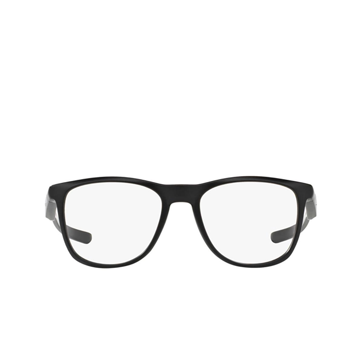 Oakley® Square Eyeglasses: Trillbe X OX8130 color Matte Black 813001 - front view.