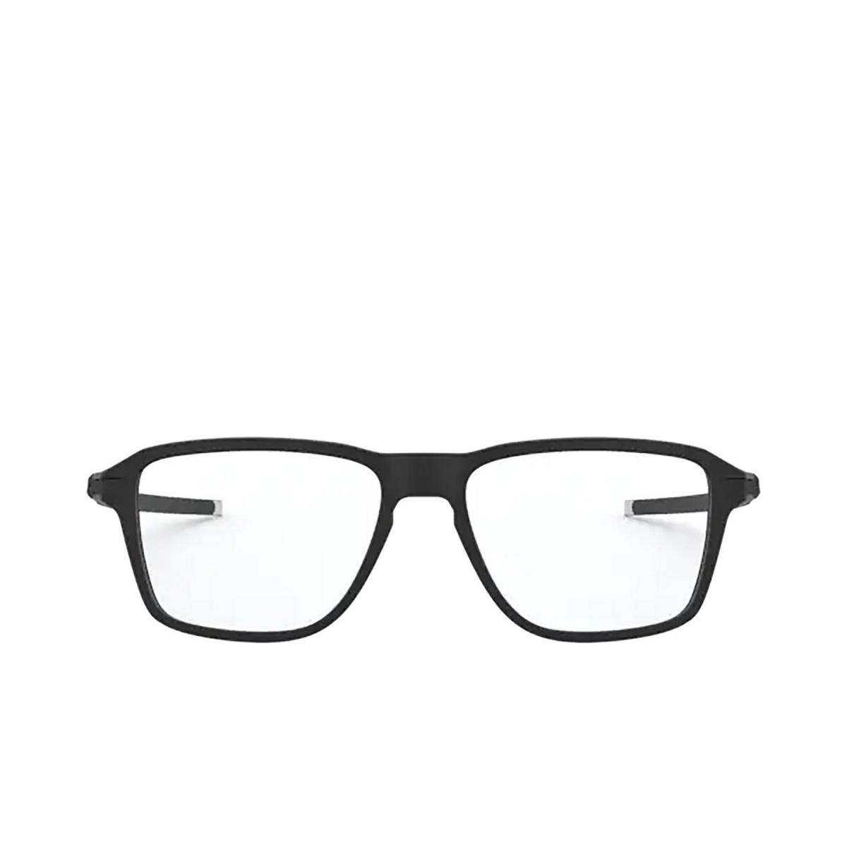Oakley® Square Eyeglasses: Wheel House OX8166 color Satin Black 816601.