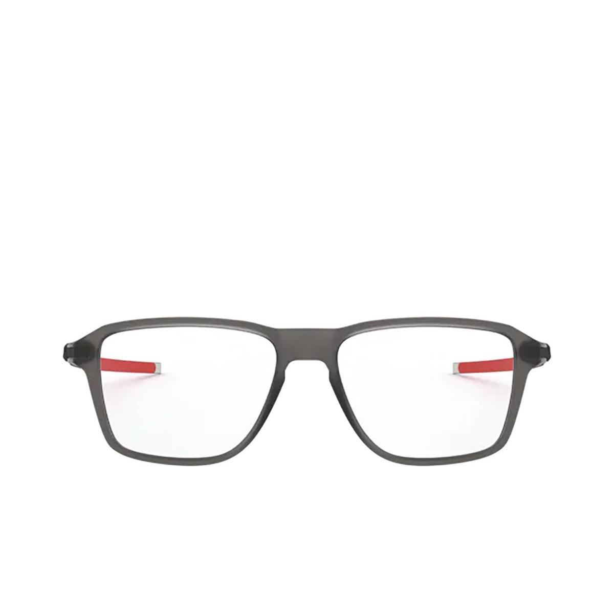 Oakley® Square Eyeglasses: Wheel House OX8166 color Satin Grey Smoke 816603.