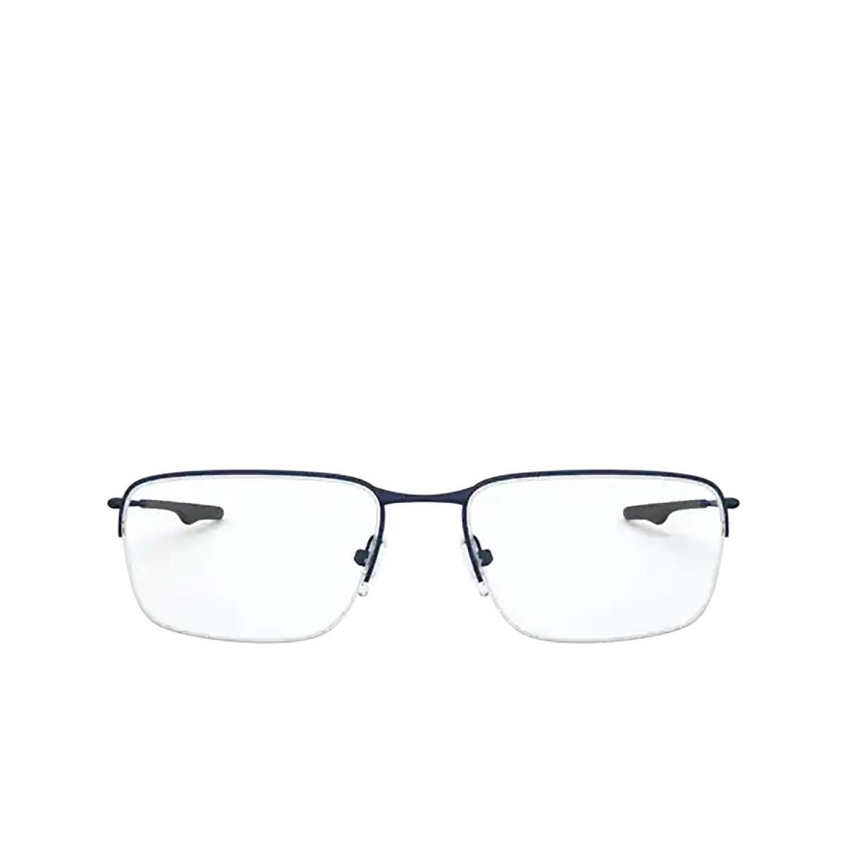Oakley® Rectangle Eyeglasses: Wingback Sq OX5148 color Matte Dark Navy 514804.