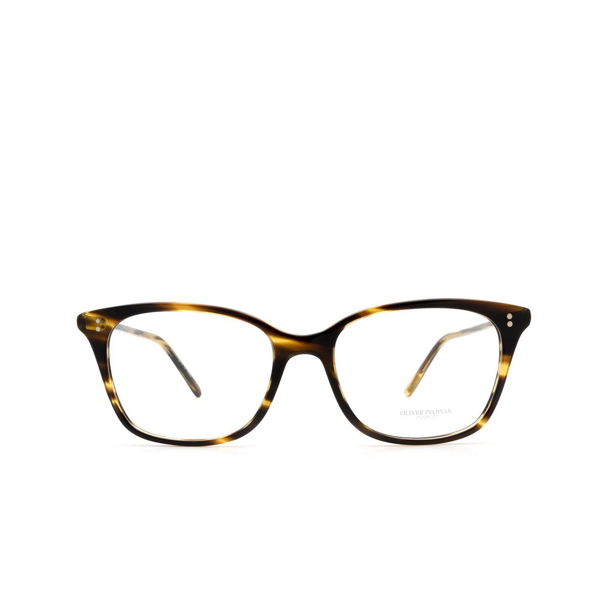 Oliver Peoples® Rectangle Eyeglasses: Addilyn OV5438U color Cocobolo 1003.