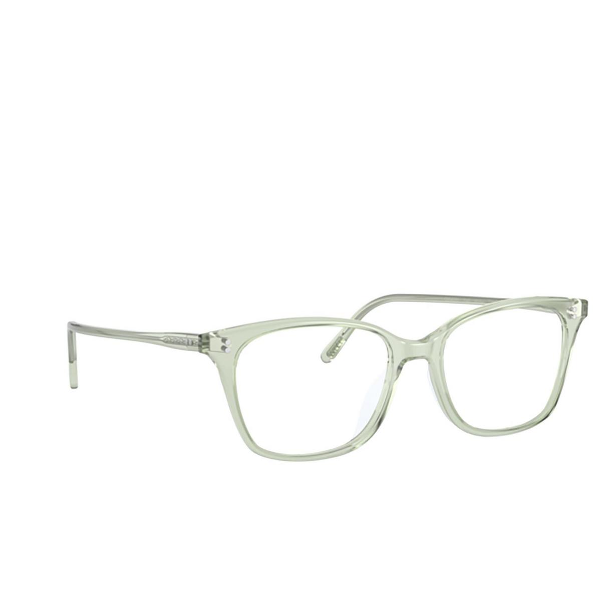 Oliver Peoples® Square Eyeglasses: Addilyn OV5438U color Washed Sage 1640 - three-quarters view.