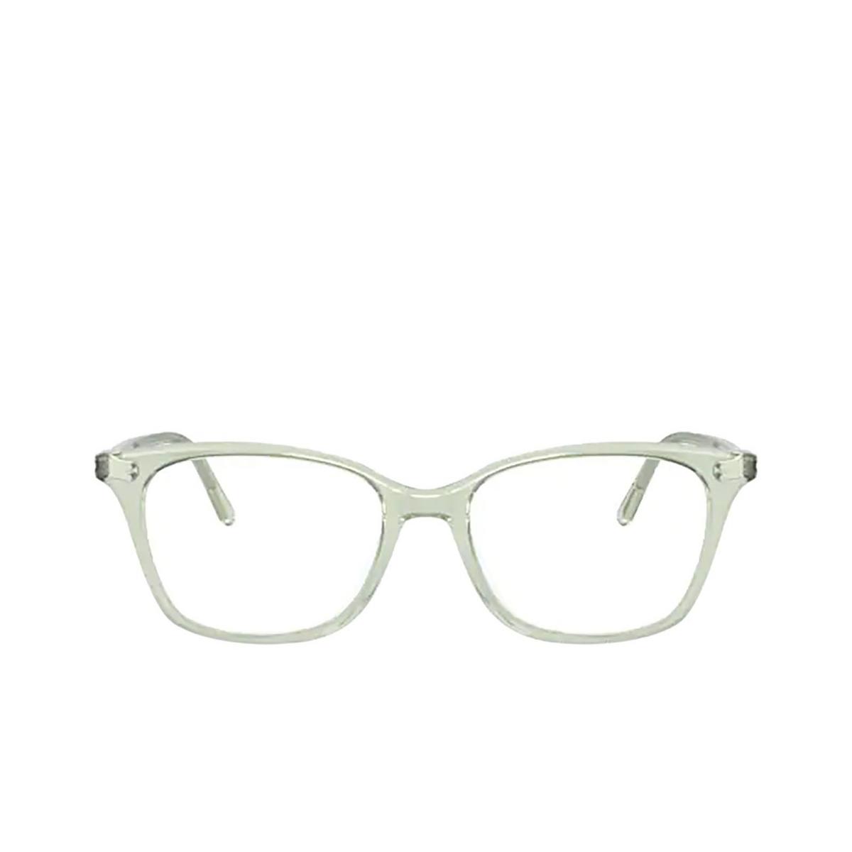 Oliver Peoples® Square Eyeglasses: Addilyn OV5438U color Washed Sage 1640 - front view.