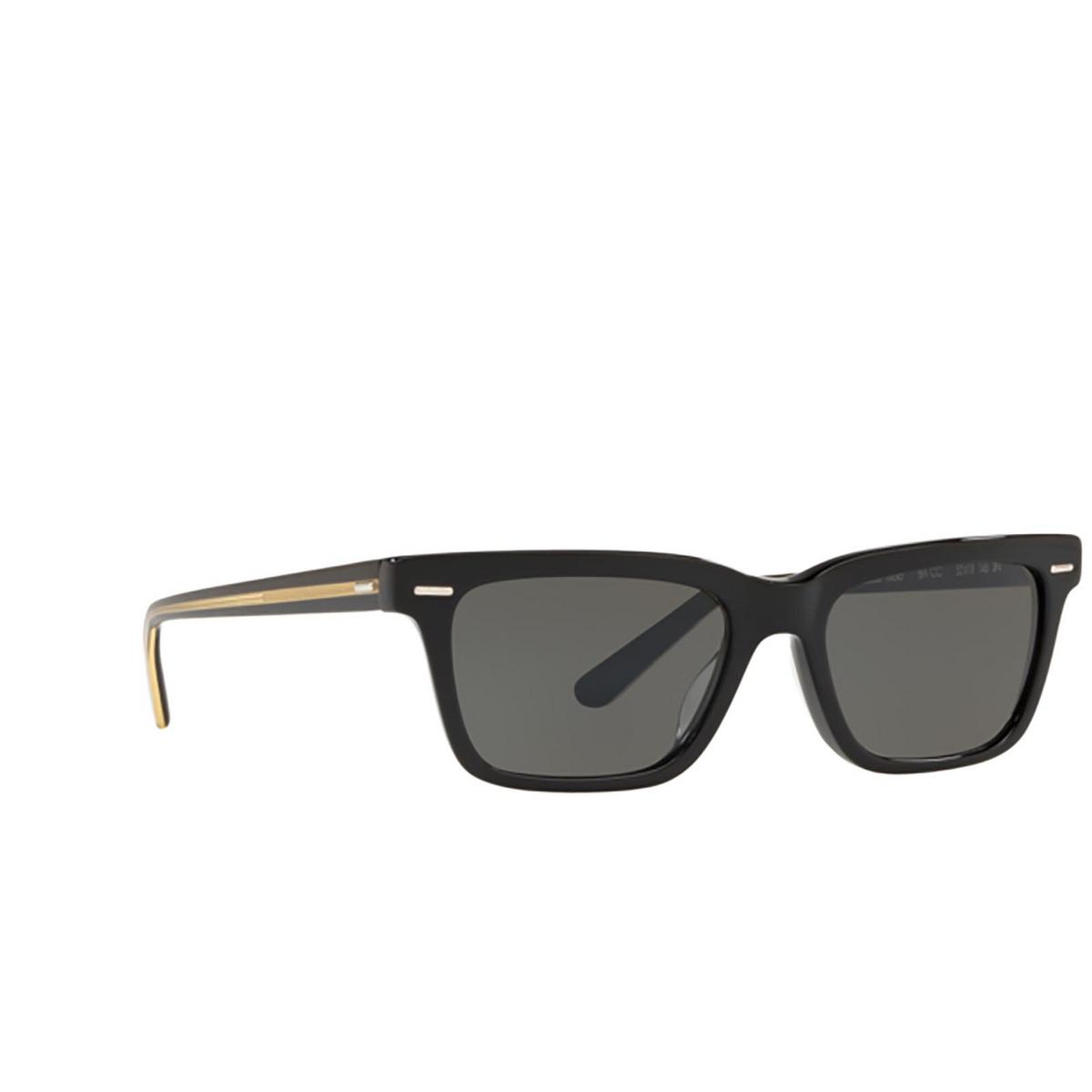 Oliver Peoples® Square Sunglasses: Ba Cc OV5388SU color Black 1005R5.