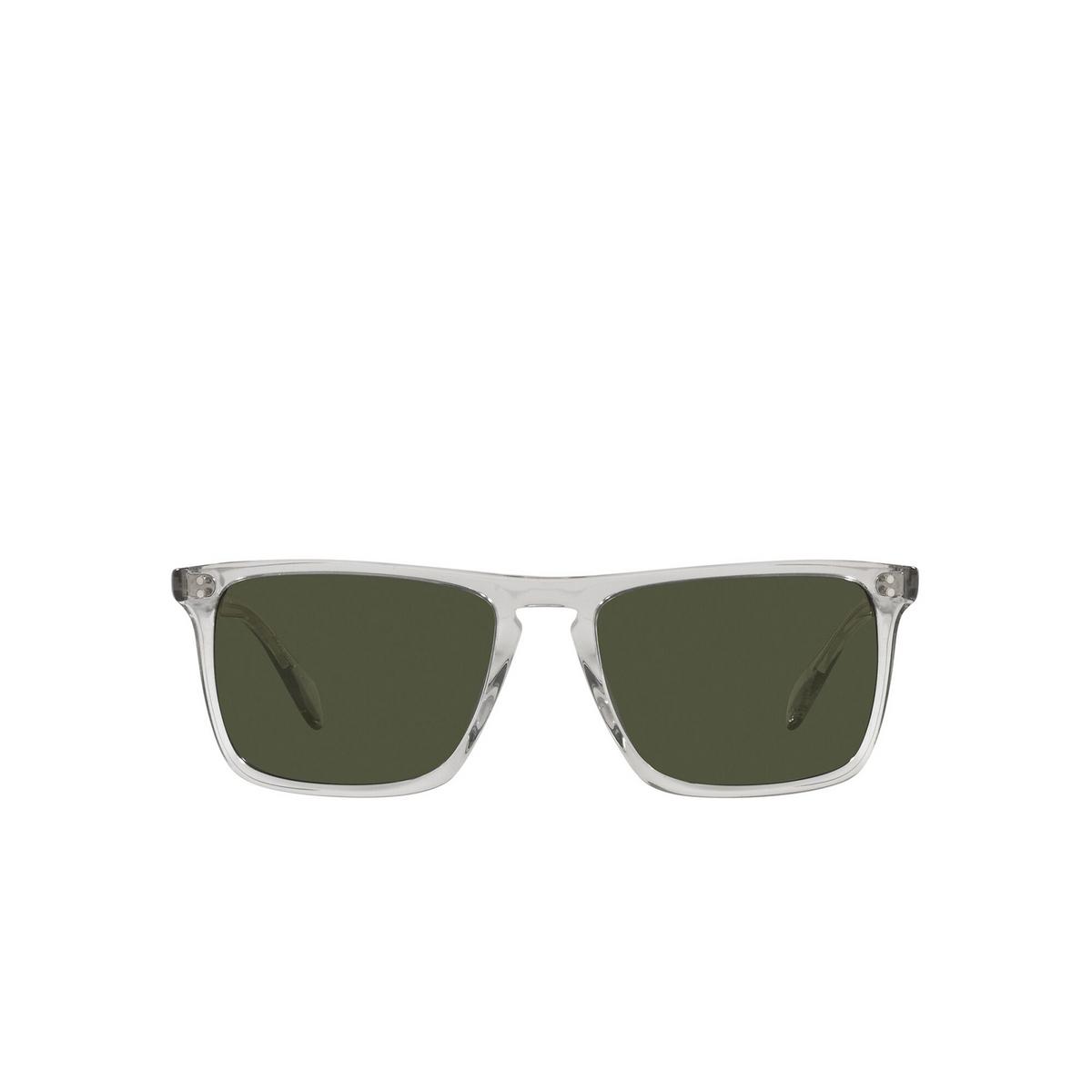 Oliver Peoples® Square Sunglasses: Bernardo OV5189S color Black Diamond 166952 - front view.