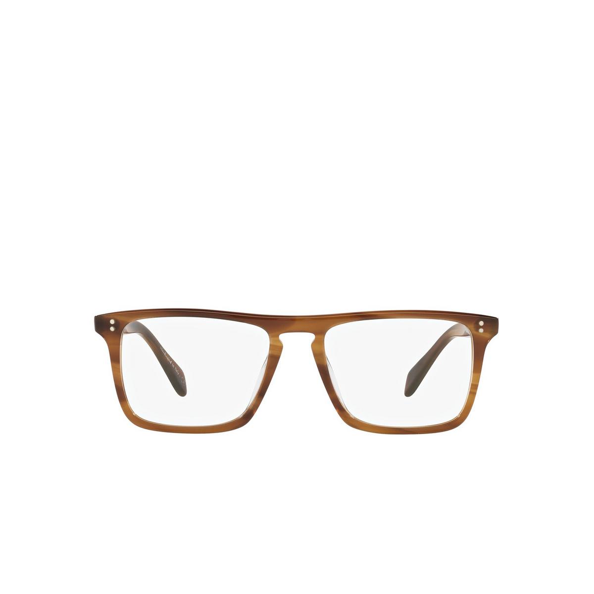 Oliver Peoples® Square Eyeglasses: Bernardo-r OV5189U color Raintree 1011 - front view.
