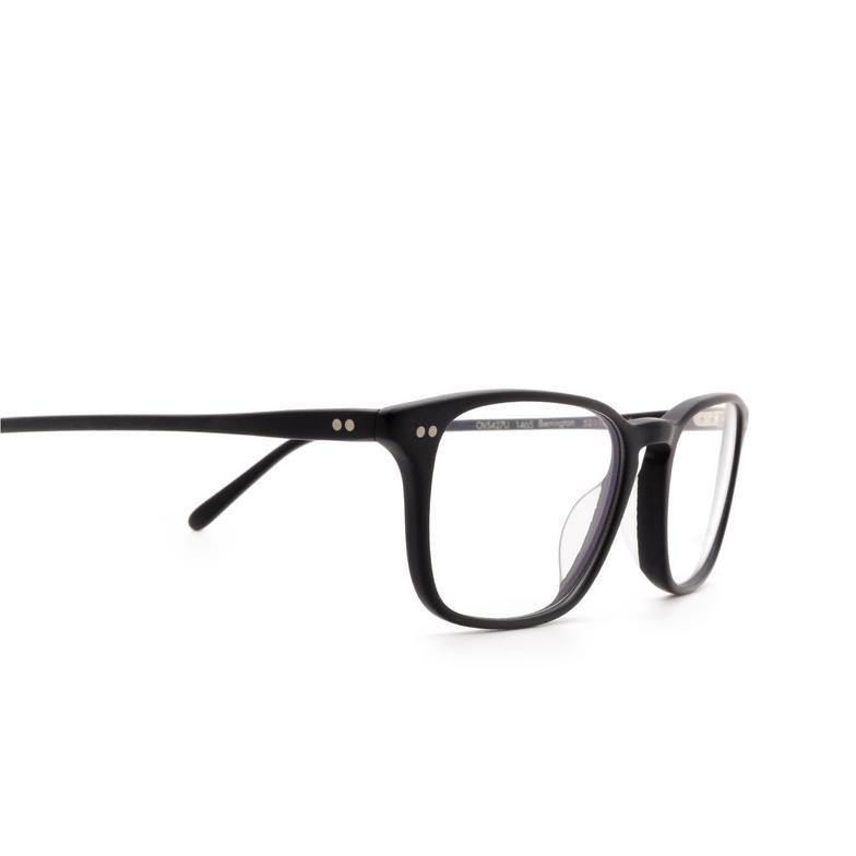 Oliver Peoples® Rectangle Eyeglasses: Berrington OV5427U color Semi Matte Black 1465.