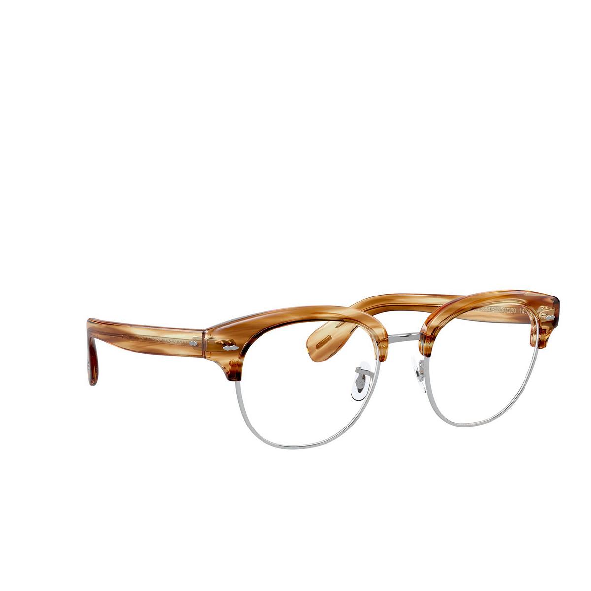 Oliver Peoples® Square Eyeglasses: Cary Grant 2 OV5436 color Honey Vsb 1674 - three-quarters view.