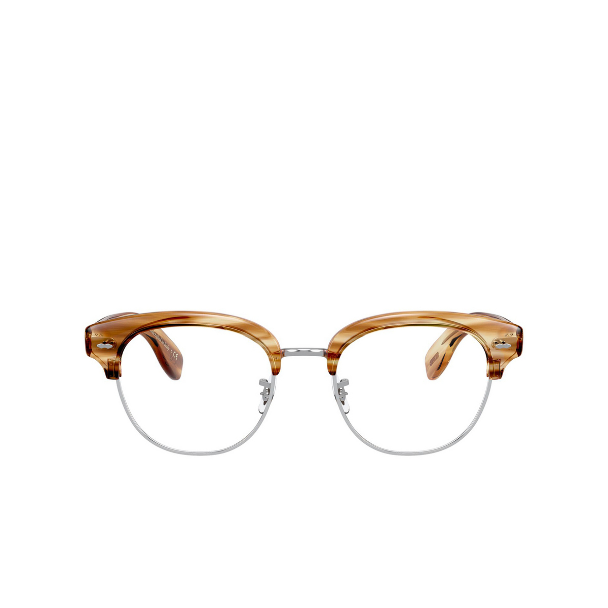 Oliver Peoples® Square Eyeglasses: Cary Grant 2 OV5436 color Honey Vsb 1674 - front view.