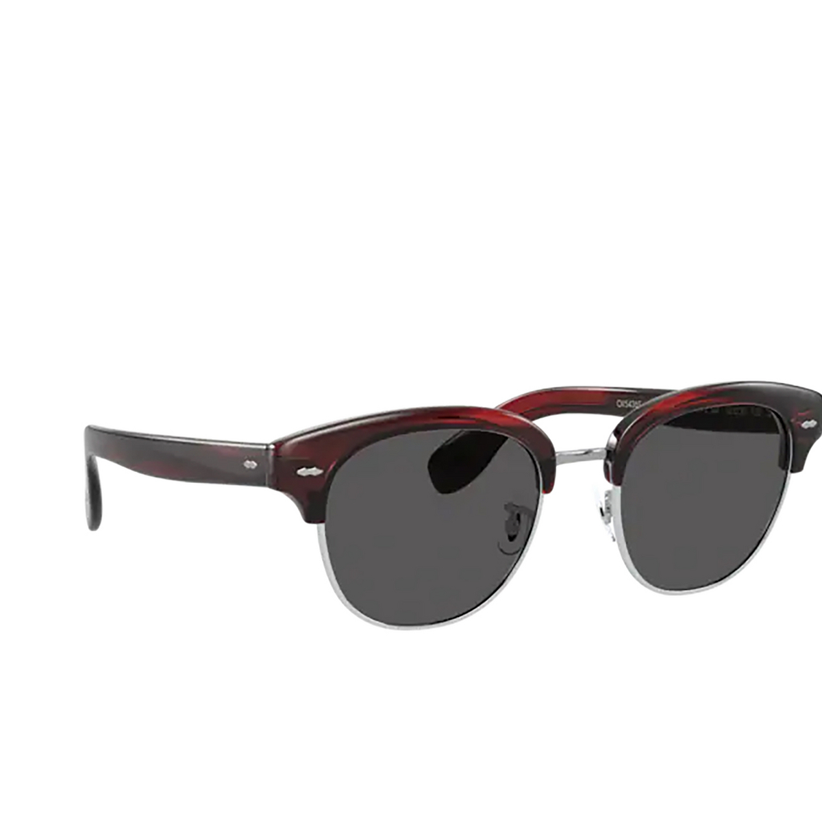 Oliver Peoples® Square Sunglasses: Cary Grant 2 Sun OV5436S color Bordeaux Bark 1675R5.