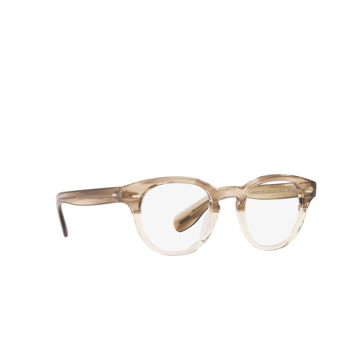 Oliver Peoples® Square Eyeglasses: Cary Grant OV5413U color Military Vsb 1647 - three-quarters view.