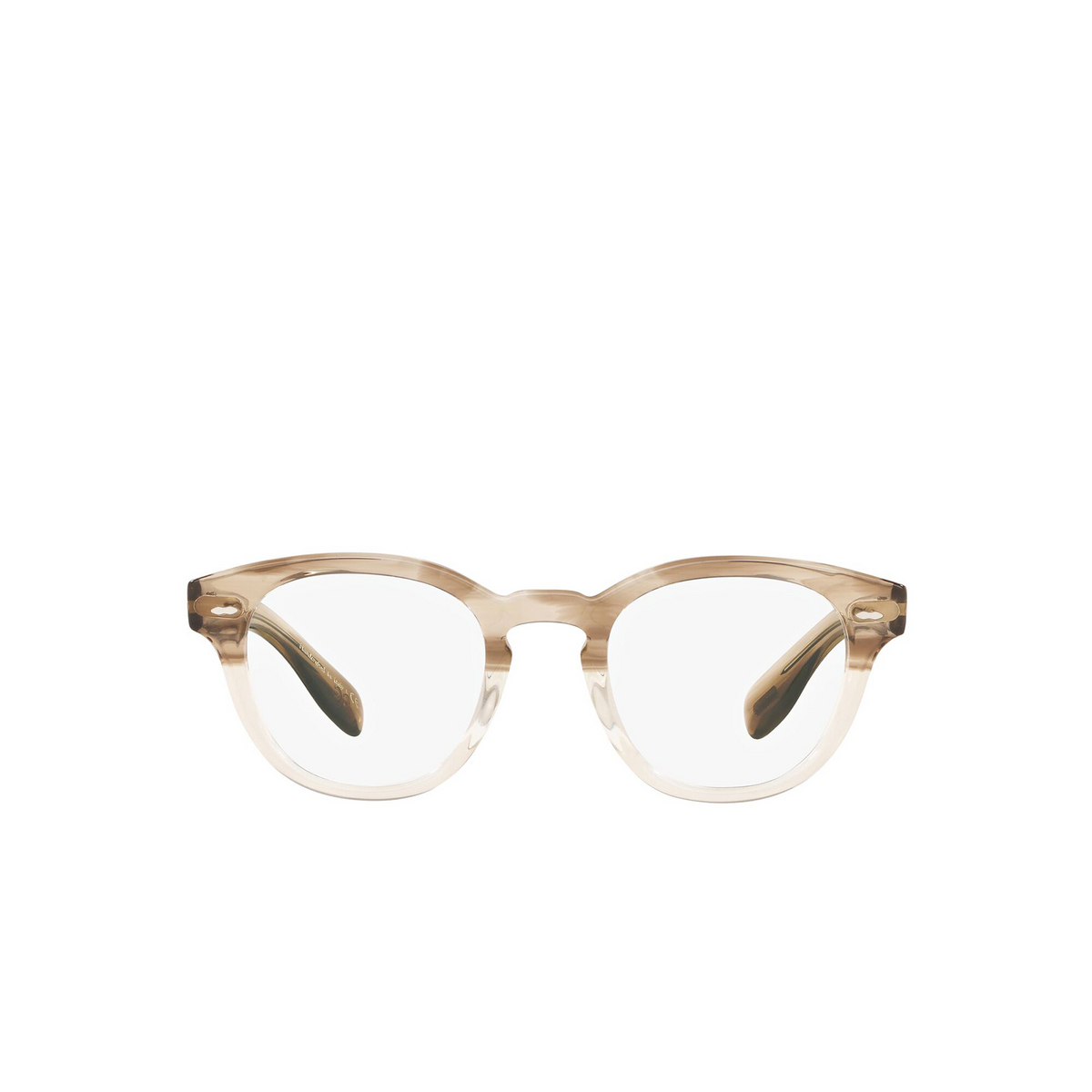 Oliver Peoples® Square Eyeglasses: Cary Grant OV5413U color Military Vsb 1647 - front view.