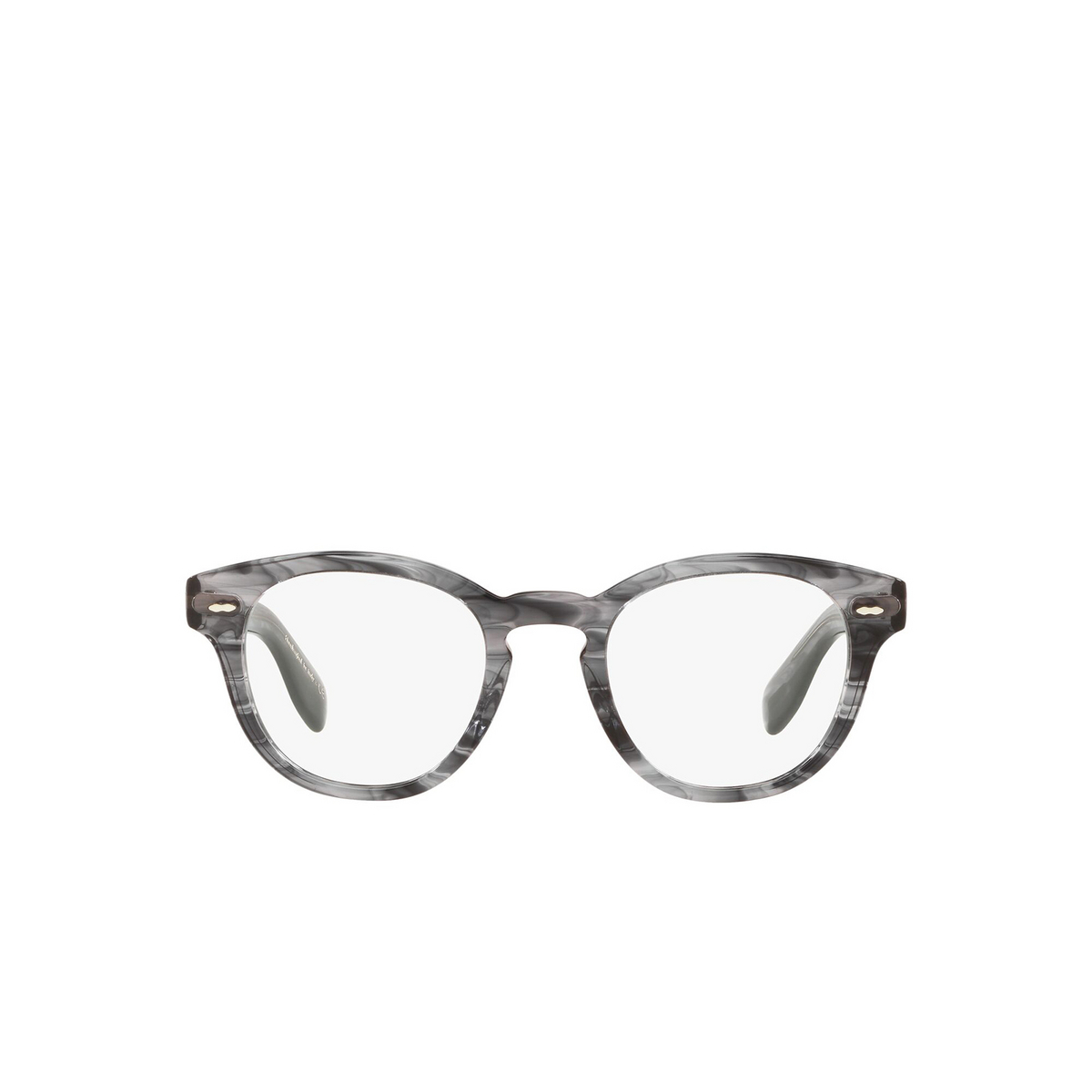 Oliver Peoples® Square Eyeglasses: Cary Grant OV5413U color Navy Smoke 1688 - front view.